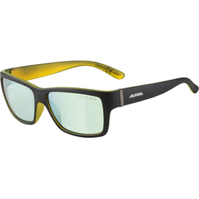 Alpina Kacey Gafas, black matt-neon/gold mirror